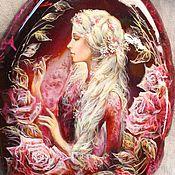 """Украшения ручной работы. Ярмарка Мастеров - ручная работа Кулон """"Тайны роз"""". Handmade."""
