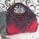 """Женские сумки ручной работы. Ярмарка Мастеров - ручная работа. Купить Сумка кожаная """"Бордо"""". Handmade. Бордовый, Кожаная сумка"""