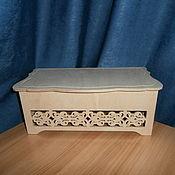Материалы для творчества handmade. Livemaster - original item Jewelry box (casket) large 661. Handmade.
