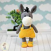 Stuffed Toys handmade. Livemaster - original item Toy Donkey Gene. Handmade.