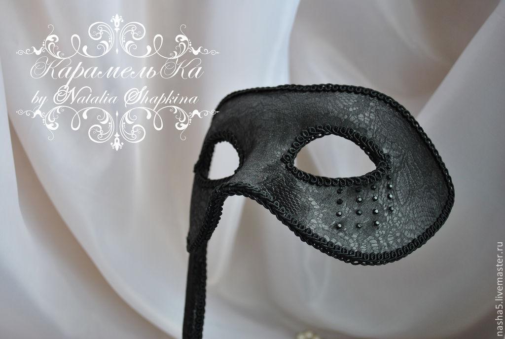 Mens wedding mask in the Venetian style, Carnival masks, Smolensk,  Фото №1