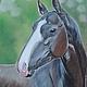 Животные ручной работы. Ярмарка Мастеров - ручная работа. Купить Патма-Гели (пастель, лошадь, рисунок пастелью). Handmade. Лошадь
