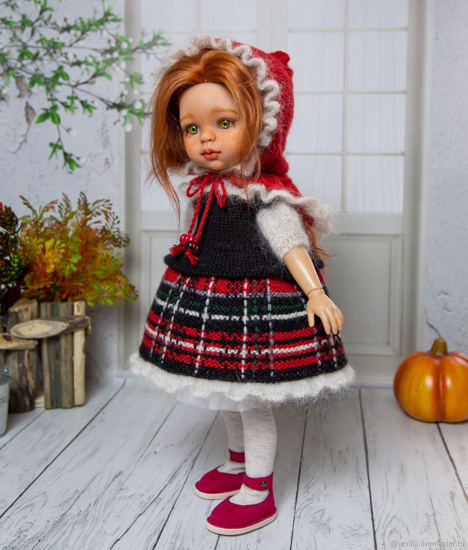 костюм Красной Шапочки, Одежда для кукол, Симферополь,  Фото №1
