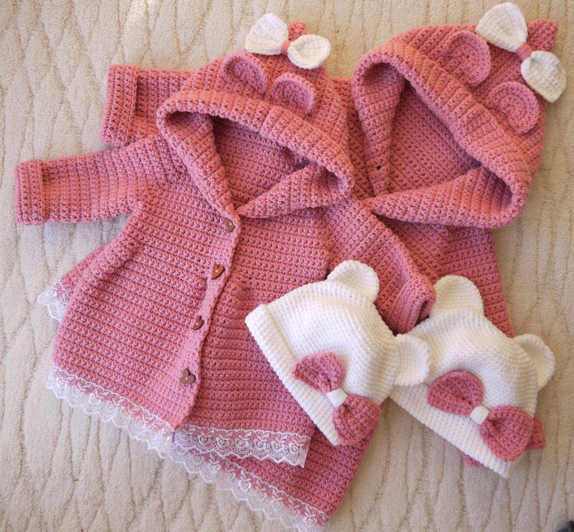 Одежда для девочек, ручной работы. Ярмарка Мастеров - ручная работа. Купить Вязаный кардиган. Handmade. Вязание крючком, вязание для детей