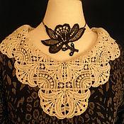 Одежда handmade. Livemaster - original item Dress with lace collar