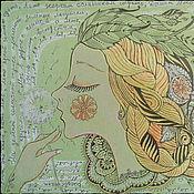 """Картины и панно ручной работы. Ярмарка Мастеров - ручная работа """"Лето"""". Handmade."""