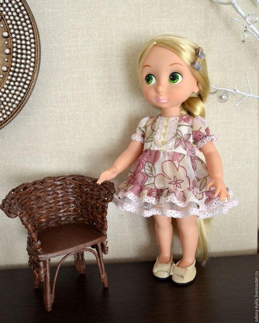 Одежда для кукол ручной работы. Ярмарка Мастеров - ручная работа. Купить № 011 Платье для кукол Дисней/Disney.. Handmade.
