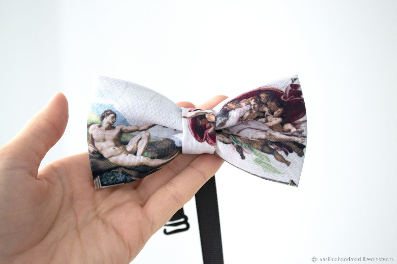 Галстук-бабочка Сотворение Адама, Галстуки, Ростов-на-Дону,  Фото №1