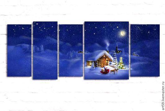 Новый год 2017 ручной работы. Ярмарка Мастеров - ручная работа. Купить Рождество. Handmade. Синий, рождество, рождество 2016