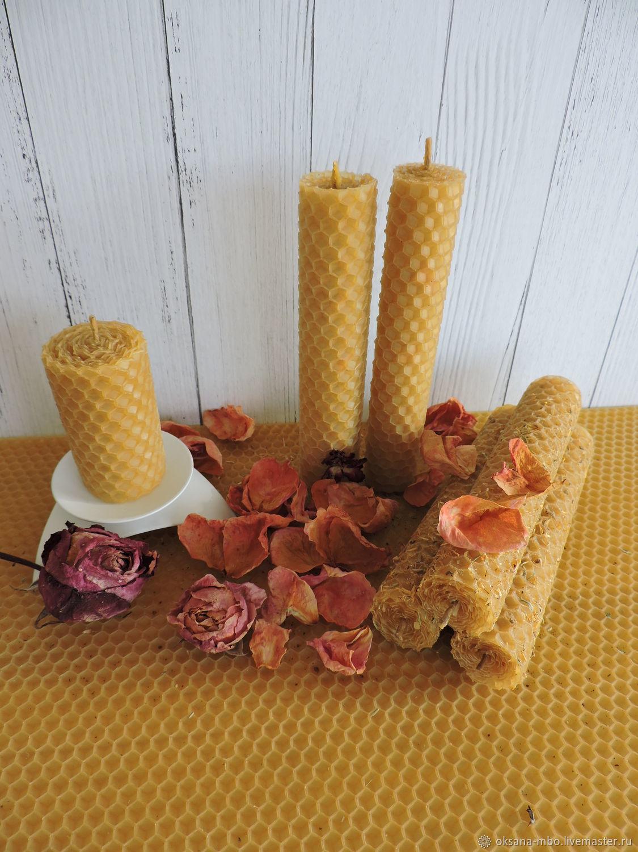 Свечи с ароматом Розы, Свечи, Орел,  Фото №1