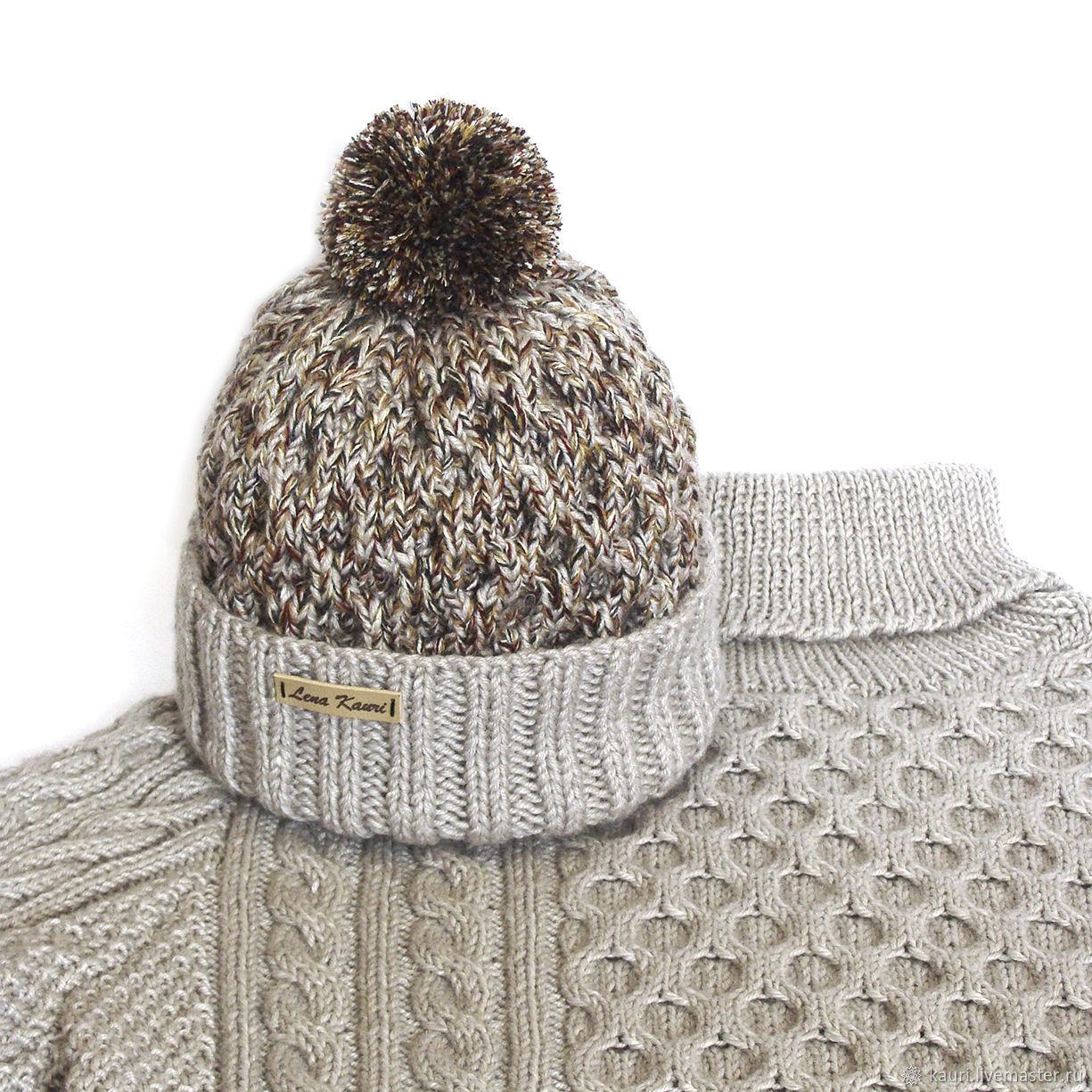 Купить Мужской свитер из мериноса ручной работы Гейнсборо ...