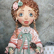 Куклы и игрушки ручной работы. Ярмарка Мастеров - ручная работа Кукла текстильная Жанетт. Handmade.