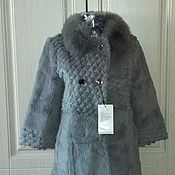 Одежда handmade. Livemaster - original item Fur coat sheared beaver with Fox. Handmade.