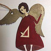 Подарки к праздникам ручной работы. Ярмарка Мастеров - ручная работа Ангелы-учителя - 5 видов. Handmade.