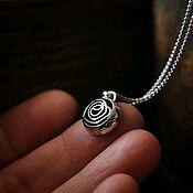 Украшения handmade. Livemaster - original item Pendant silver rose(silver 925). Handmade.