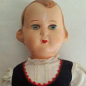 Винтаж ручной работы. Ярмарка Мастеров - ручная работа Редкая Целлулоидная кукла Czehoslovakia. Handmade.