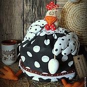 Подарки к праздникам ручной работы. Ярмарка Мастеров - ручная работа Толстая ЯДВИГА  грелка для чайника. Handmade.