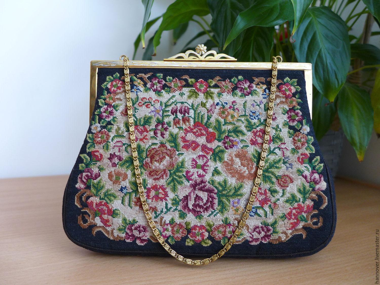 Дамские сумочки с вышивкой