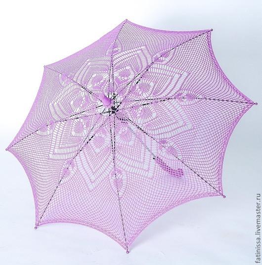 """Зонты ручной работы. Ярмарка Мастеров - ручная работа. Купить Зонт """" Сиреневые сны"""". Handmade. Сиреневый, парасоль"""