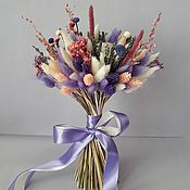 Букеты ручной работы. Ярмарка Мастеров - ручная работа Лавандовый букет из сухоцветов. Handmade.
