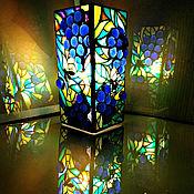 Для дома и интерьера handmade. Livemaster - original item Table bright decorative lamp Sweet grapes and bees. Handmade.