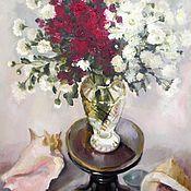 Картины и панно ручной работы. Ярмарка Мастеров - ручная работа Цветы и раковины. Handmade.