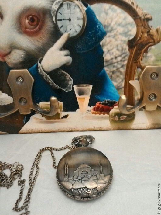 """Часы ручной работы. Ярмарка Мастеров - ручная работа. Купить Часы карманные """"Восточный город"""". Handmade. Часы, часы кварцевые"""