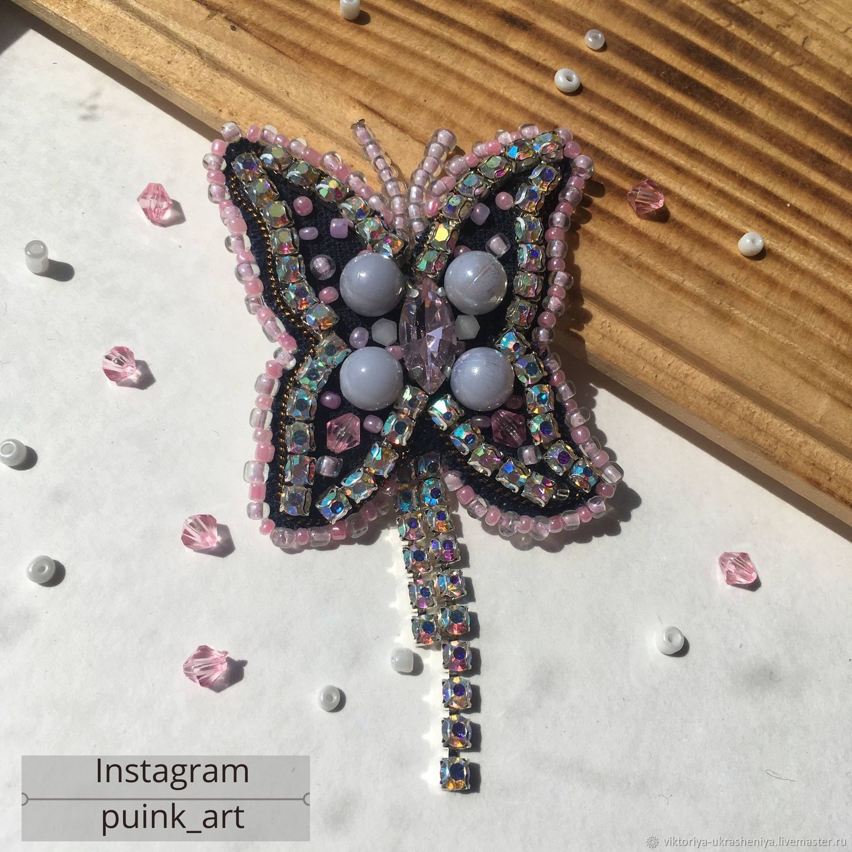 Brooch Butterfly in various colors!, Brooch-clip, Krasnodar,  Фото №1