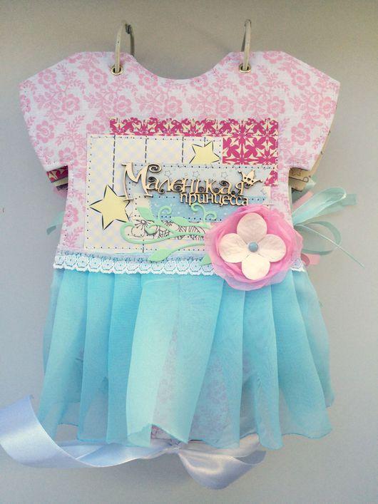 """Фотоальбомы ручной работы. Ярмарка Мастеров - ручная работа. Купить Бодик с юбочкой """"маленькая принцесса"""". Handmade. Мятно-розовый"""