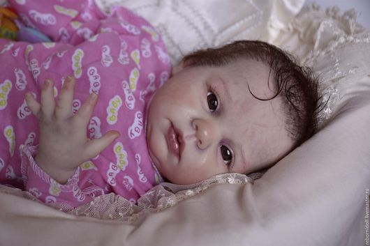 Куклы-младенцы и reborn ручной работы. Ярмарка Мастеров - ручная работа. Купить Кукла реборн малышка Виола. Handmade.