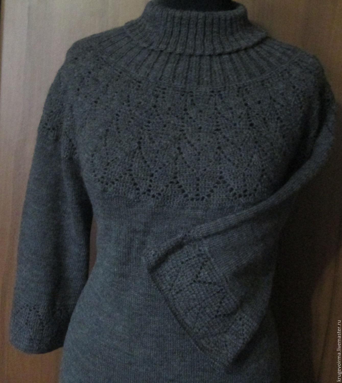 платье вязаное – купить в интернет-магазине на Ярмарке ...