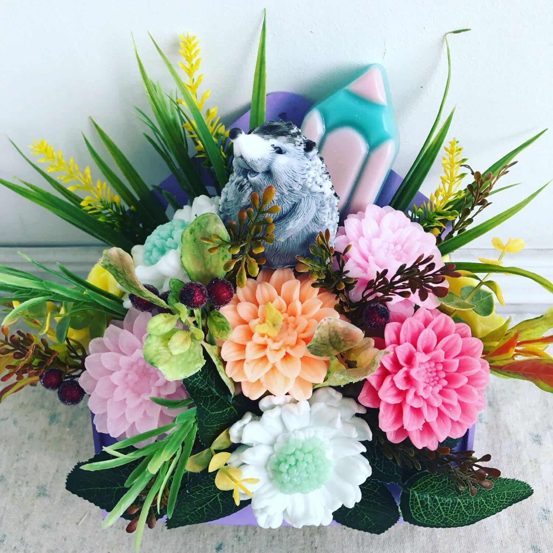 Букет цветов из детского мыла купить, цветок