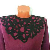 Украшения handmade. Livemaster - original item Knitted necklace Night sky. Handmade.
