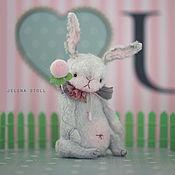 Куклы и игрушки ручной работы. Ярмарка Мастеров - ручная работа Зай весенний N1. Handmade.