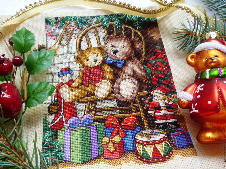 Рождество вышивка 57