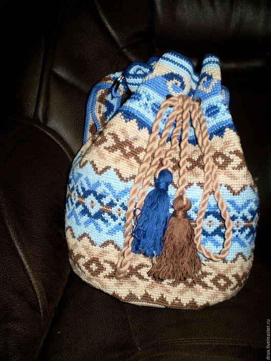 Женские сумки ручной работы. Ярмарка Мастеров - ручная работа. Купить Колумбийская мочила. Handmade. Комбинированный, перу, торба