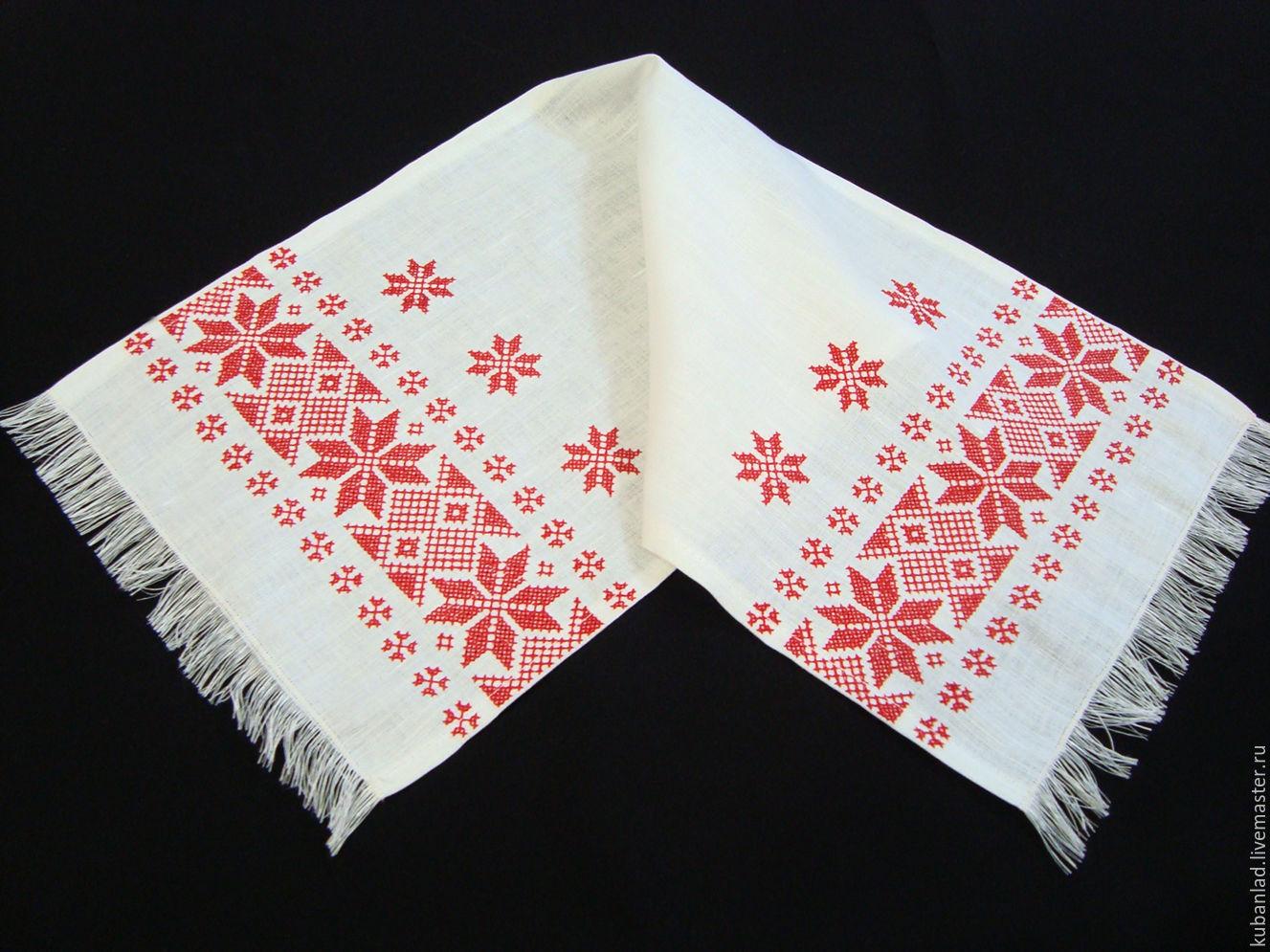 Рушник ткань для вышивки