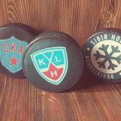 """Косметика ручной работы. Ярмарка Мастеров - ручная работа Мыло""""Хоккейная шайба"""". Handmade."""