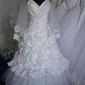Свадебный салон ручной работы. Ярмарка Мастеров - ручная работа Свадебное платье из серии распродаж. Handmade.