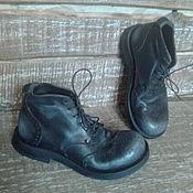 Обувь ручной работы. Ярмарка Мастеров - ручная работа Кожаные ботинки Артикул 109. Handmade.