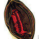 """Женские сумки ручной работы. Женская кожаная сумка """"Laddy black"""". Агафонов Женя. Ярмарка Мастеров. Подарок женщине"""