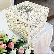 Свадебный салон handmade. Livemaster - original item Wedding chest for money. Handmade.
