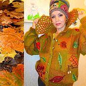 """Одежда ручной работы. Ярмарка Мастеров - ручная работа Куртка """"Осень"""" на подкладке. Handmade."""