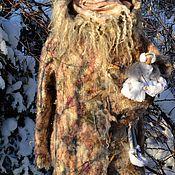 Одежда ручной работы. Ярмарка Мастеров - ручная работа Флисовая зимняя шубка. Handmade.