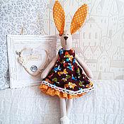 """Куклы и игрушки ручной работы. Ярмарка Мастеров - ручная работа Тильда - заяц """" Микс"""". Handmade."""