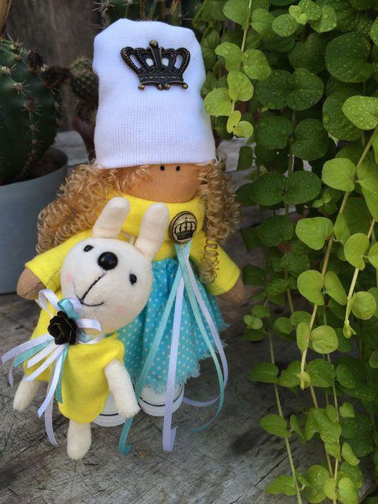 Коллекционные куклы ручной работы. Ярмарка Мастеров - ручная работа. Купить Авторская текстильная кукла ручной работы в стиле Бохо. Handmade.