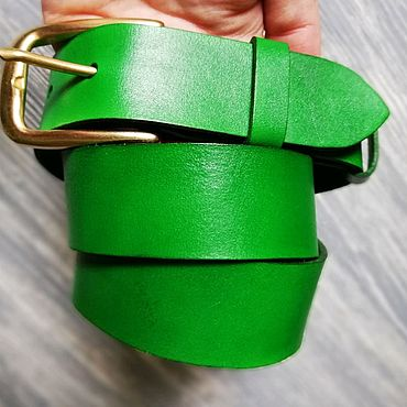 Accessories handmade. Livemaster - original item Leather belt/ leather belt / leather Belt /Belt. Handmade.