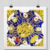 Картины и панно handmade. Livemaster - original item Pictures: PRINT Sleeping in the sun, posters buy, poster wall. Handmade.