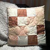 Для дома и интерьера handmade. Livemaster - original item Pillow cushion 50Х50 cushion luxury pillowcase. Handmade.