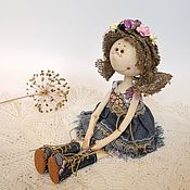 Куклы и игрушки ручной работы. Ярмарка Мастеров - ручная работа Кукла текстильная интерьерная ручной работы. Handmade.